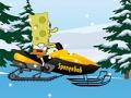 Permainan Spongebob Snowmobile secara online
